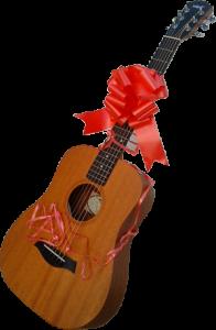 Стихи к подарку гитара - pozdravok.ru