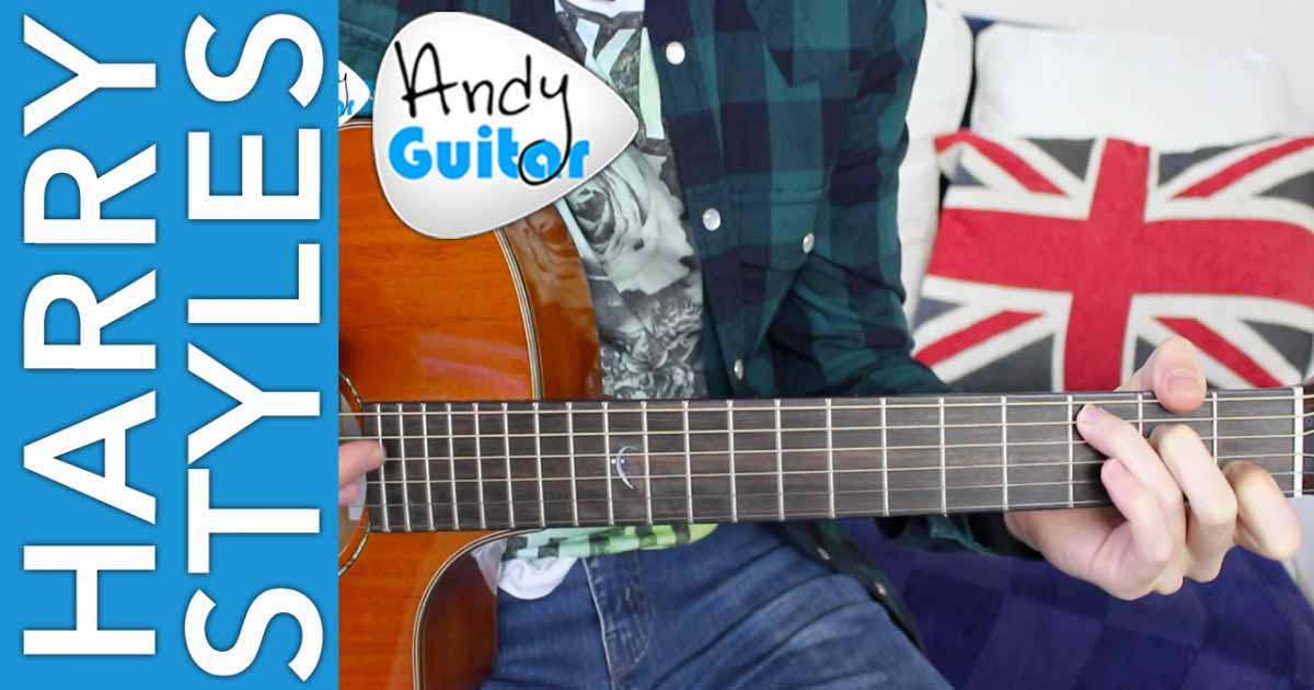 Harry Styles Sign Of The Times Andy Guitar