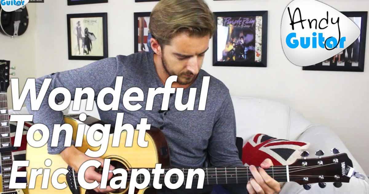 clapton wonderful tonight tabs
