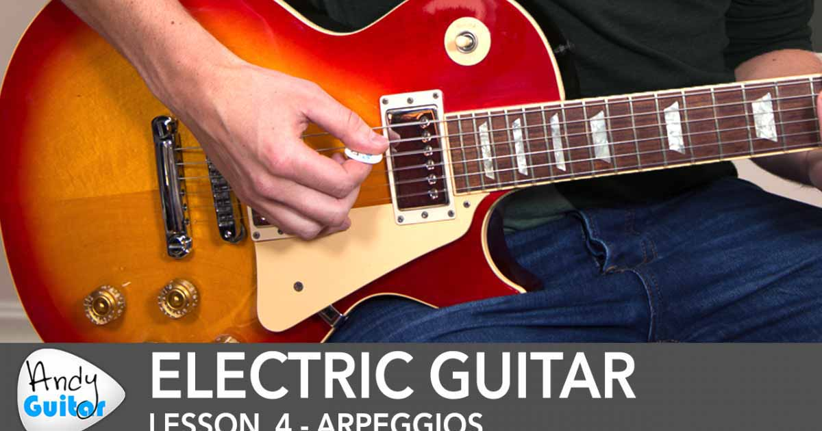 rock guitar 1 electric guitar starter course beginner andy guitar. Black Bedroom Furniture Sets. Home Design Ideas